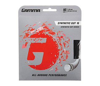 Gamma Synthetic Gut 16g (Black)